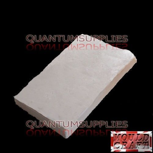 Vinamold White Hot Pour Reusable Mould Making Rubber 500g Used with plaster etc