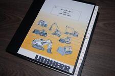 Liebherr Radlader L506 L507 L508 L509 L510 REPARATURHANDBUCH WERKSTATTHANDBUCH