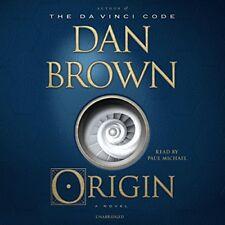 Origin by Dan Brown (2017, CD, Unabridged)