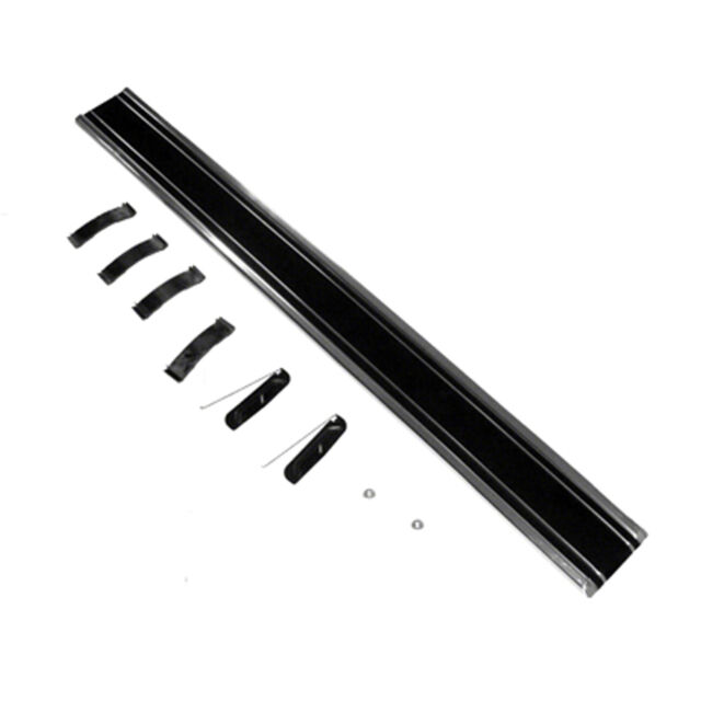 1969-72 Chevy// GMC Pickup Front Bed Molding Black Long Bed Lower LH New