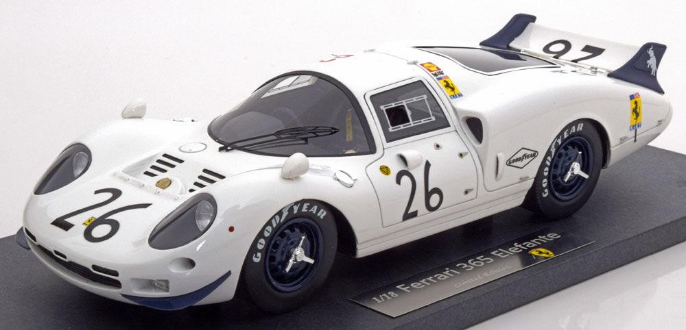 Ferrari 365 P2 Elefante  26 24h Le Mans 1967 Rodriguez Parsons 1 18 LE of 300