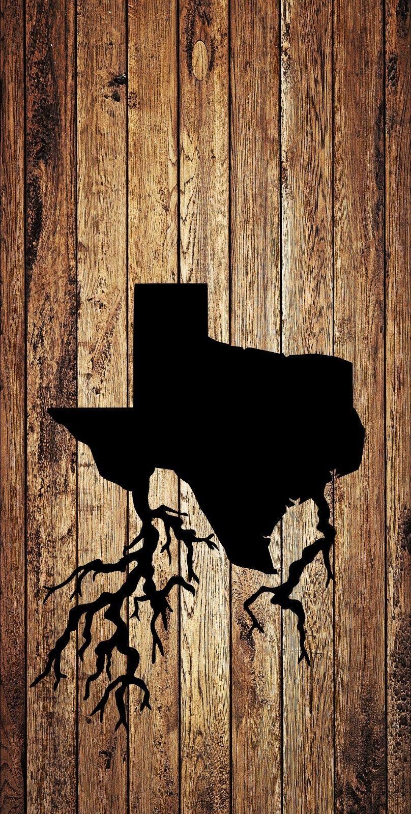 Texas Roots Cornhole Wrap Bag Toss 3M Cornhole Decal Set