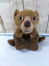 2003 Disney Brother Bear Movie Koda Talking Plush Toy Doll Animal Clean Soft