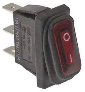 Interruttore-1-polig-230v-1no-Rosso-Attacco-Connettore-Faston-Maschio-6-3mm