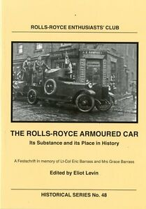New-Title-The-Rolls-Royce-Armoured-Car-Its-Substance-and-its-Place-in-History