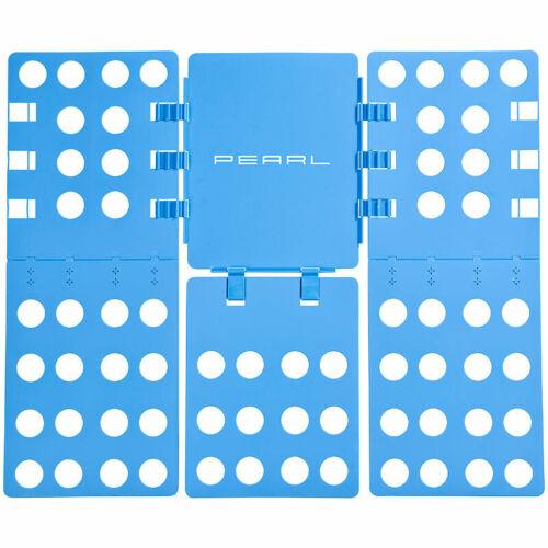 68x57 cm PEARL 2er-Set Wäsche-Faltbretter für Hemden /& Co. blau klappbar
