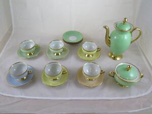 Service de Thé Café ' en Porcelaine Kjobenhavns Porcellains Maleri Danemark R31 xdV89GPS-09173400-381001456