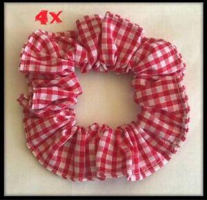 Scrunchie Red School Hair Accessories etc… Headband Elastic