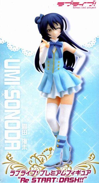 "Umi Sonoda Figure ""Re Start:Dash!!"" anime Love Live! SEGA official"