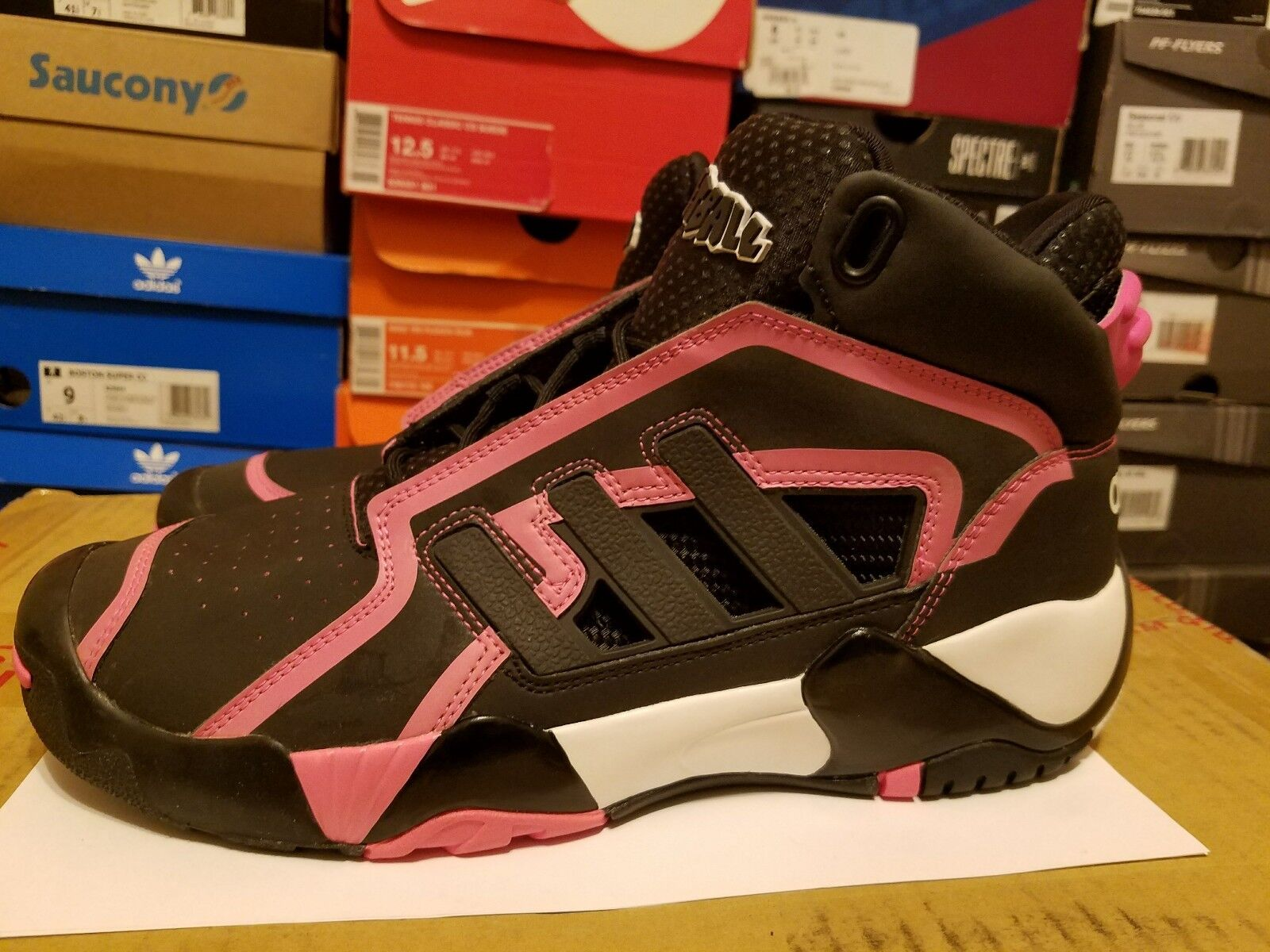 best website 07ff1 67a08 Hombre Adidas streetball 2 d74104 BCA Rosa High High High Top Chalk zapatillas  de baloncesto cómodo el calzado más popular para los hombres y las mujeres  ...