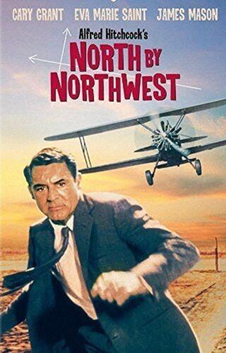North By Northwest Film Film Métal Tin Signe Affiche Plaque Murale