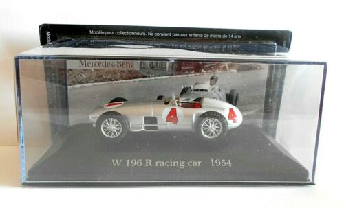 DIE CAST W 196 R racing car 1954 MERCEDES COLLECTION SCALA 1//43  #37