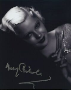 MARY-CARLISLE-SIGNED-AUTOGRAPHED-BW-8x10-PHOTO