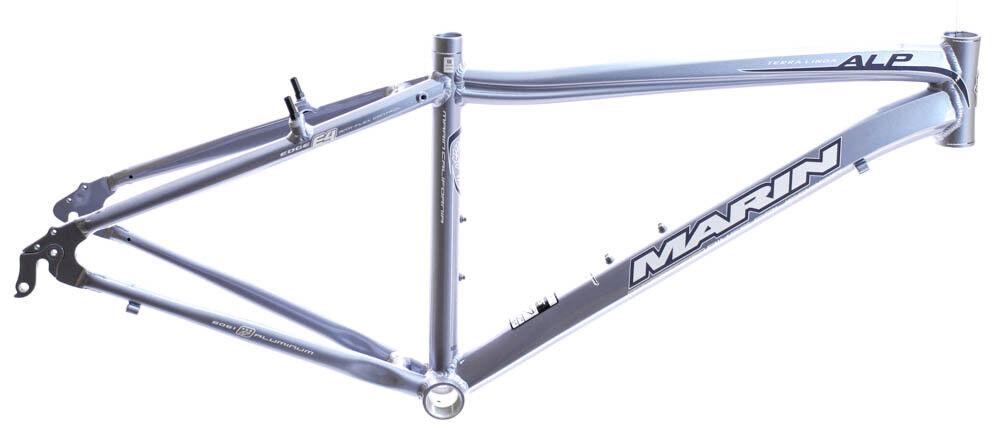 19  MARIN TERRA LINDA 700C Women's Road City Bike Frame bluee Sky Alloy NOS NEW