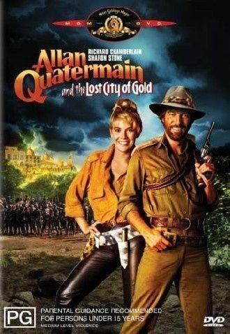 Allan Quatermain & The Lost City of Gold Region 4 DVD in VG - EX