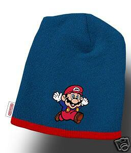 dccd1cb996b Official Nintendo SUPER MARIO Bros Era BEANIE Knit Hat Winter Cap ...