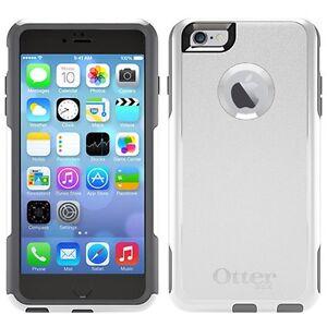 release date: dd9a8 d635e Details about OtterBox COMMUTER iPhone 6 Plus/6s Plus Case - Retail  Packaging - GLACIER