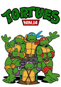 Sticker Autocollant Poster A4 Dessin Anime Tortue Ninja Teenage