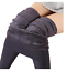 Women-039-s-FLEECE-LINED-LEGGINGS-Thick-Thermal-Solid-Warm-Winter-Long-Footless-New thumbnail 10