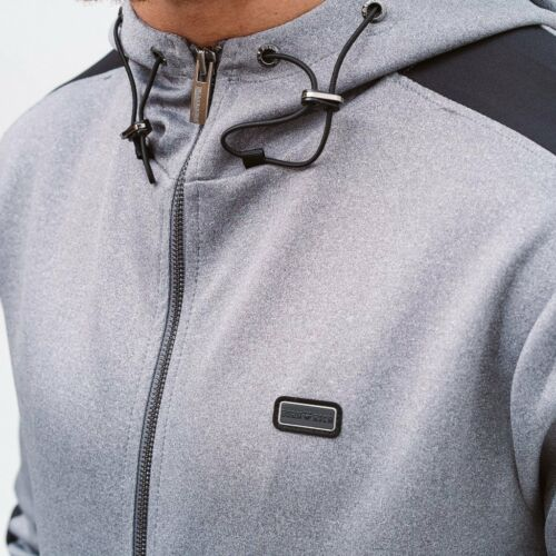 Born Rich Mens Alonso Zip Hoodie with Thumb Hole to Cuff