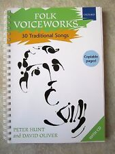 FOLK voiceworks 1 con CD - 30 canzoni tradizionali * NUOVO *