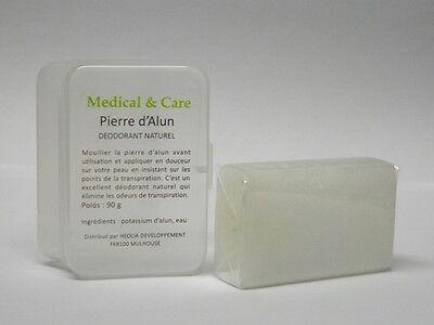 PIERRE D'ALUN Rectangulaire 90gr Potassium MEDICAL & CARE