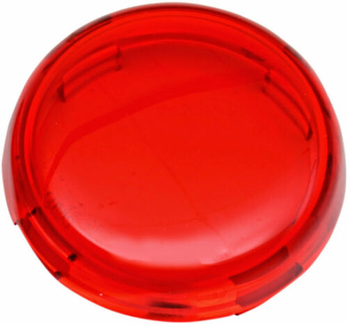 Red Turn Signal replacment Lens Harley Softail Springer  FXSTS repl OEM# 68973