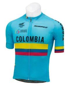 12cc9222d 2018 Suarez Colombian National Fed : Men's Short Sleeve Cycling ...