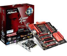 ASRock Fatal1ty X99 Professional/3.1 Gaming Motherboard: Intel LGA 2011-3, DDR4
