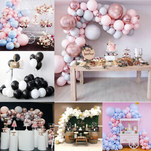 100X Balloons+Balloon Arch Kit Birthday Wedding Baby Shower Garland Party Decor