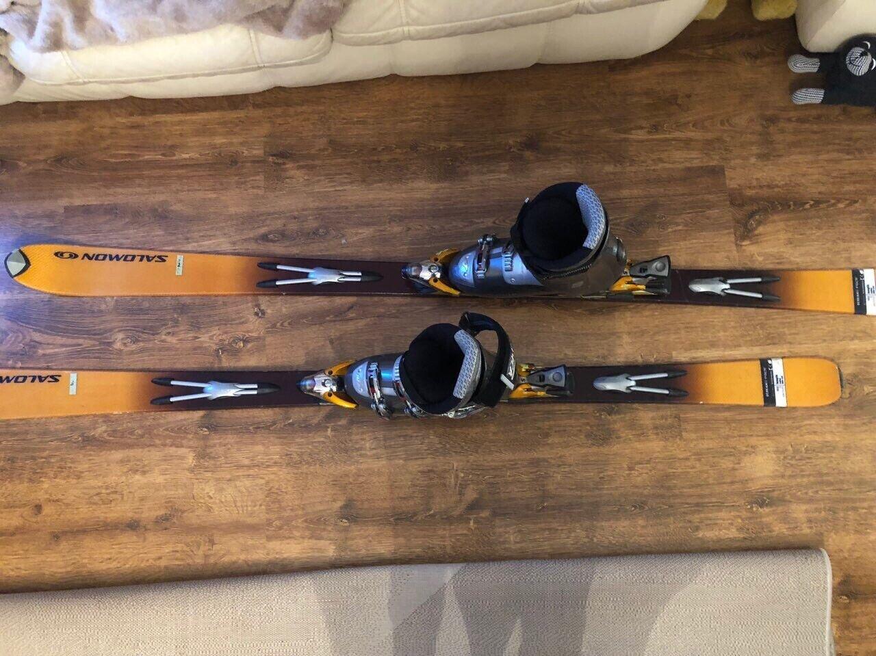 Salomon Skis + Nordica Ski Boots
