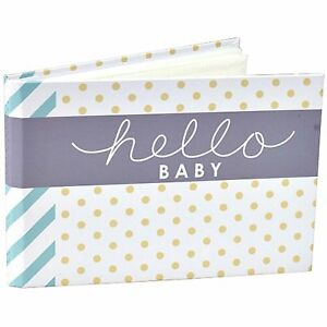 Hello Baby Brag Book Album Holds 40 Photos 4x6 Malden Designs Ebay
