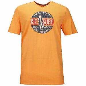 Details zu EXTRA LANG Kitaro T Shirt Überlänge Papaya T Shirts Große Größen Tall