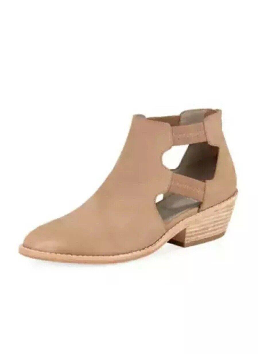 omaggi allo stadio Eileen Fisher Vanda Nubuck Nubuck Nubuck Earth Marrone avvioies stivali scarpe 8  all'ingrosso a buon mercato