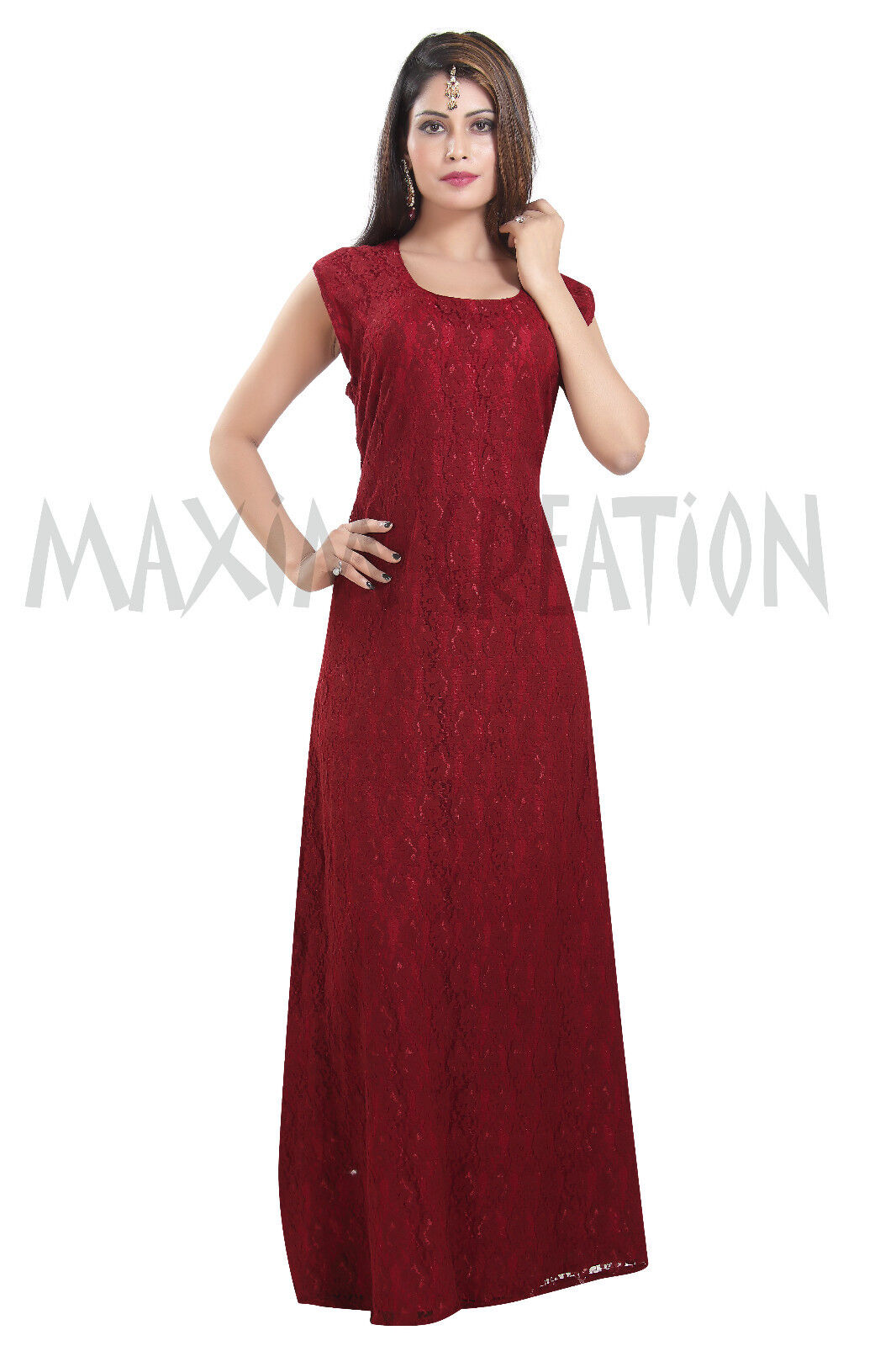 Beautiful Party Wear Evening Maxi Costume For Halloween By Maxim Creation 6584