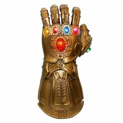Thanos Infinity Gauntlet LED Glove Cosplay Avengers Removable Infinity Stone Kid