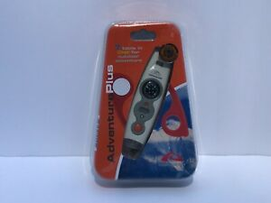 HighGear 7 Tools in One for Outdoors, Compass, Magnifier, Flashlight & More NEW