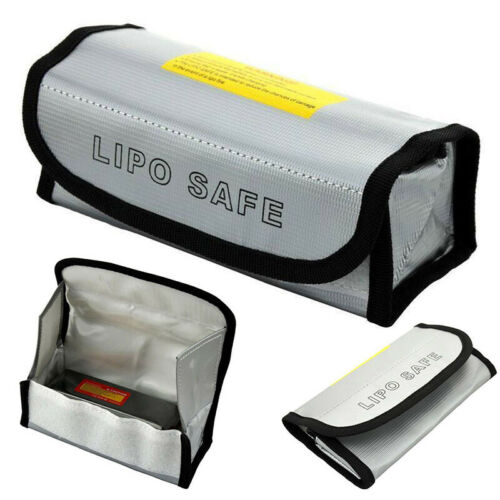 LiPo Battery Safe Bag Guard Fireproof Explosionproof Sack Safety Bag Pouch US
