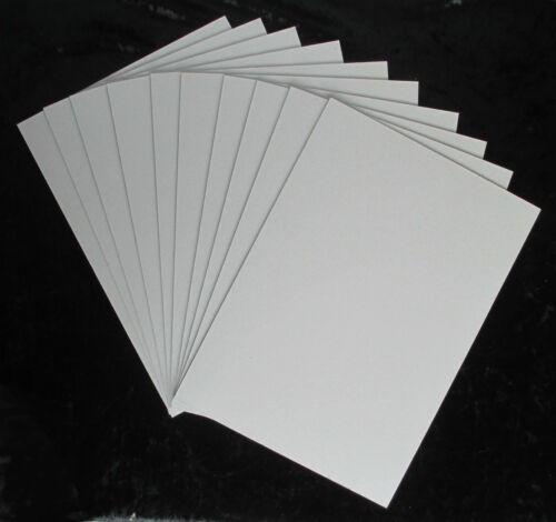 10 x A4 Greyboard Sheets 1.5mm/1500 micron - model buildings, mountboard, crafts