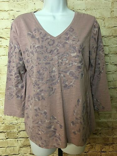 Chicos Casual Knit Top Size 1 Your Choice Animal Prints Mod Nautical Burnout