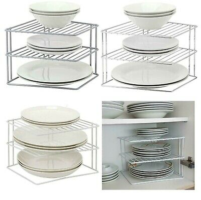 3 Tier Corner Kitchen Plate Rack Tidy Cupboard Shelf Insert Organiser New Ebay Shop cabinet inserts at aj madison.we carry every size, color and today's top brands.read cabinet insert reviews and compare prices online. 3 tier corner kitchen plate rack tidy cupboard shelf insert organiser new ebay