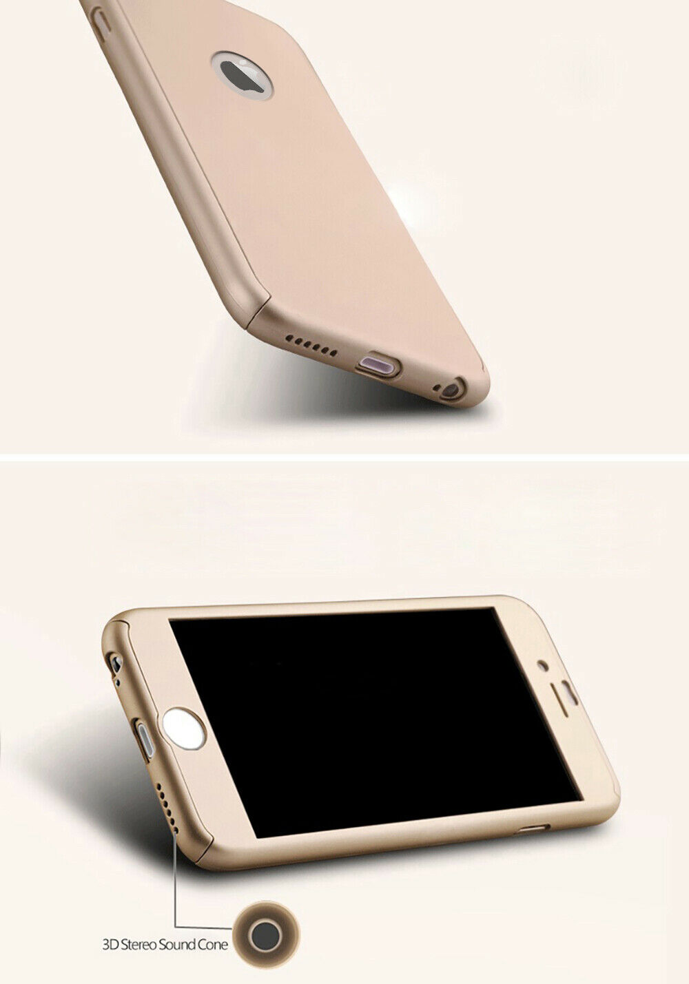 For iPhone 6s 7 8 5s Plus XR XS Max Case Shockproof360 Bumper Hybrid Phone Cover 5