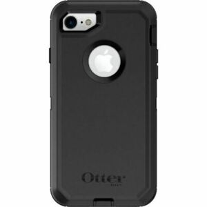 OTTERBOX 7756603 Defender Series Case for iPhone 8 and iPhone 7 - Black