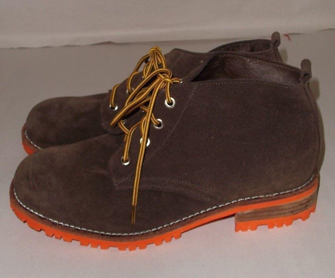 Jeffrey Campbell Braun Suede Bush Hiking Boot Urban Outfitters Größe 9 NEU Defect