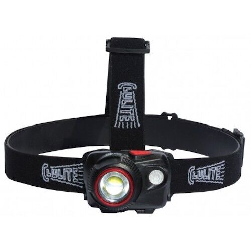 Cluson clulite  Focus2Go HL21 rechargeable LED headlight PLUS FREE DH  FACE VEIL  first time reply