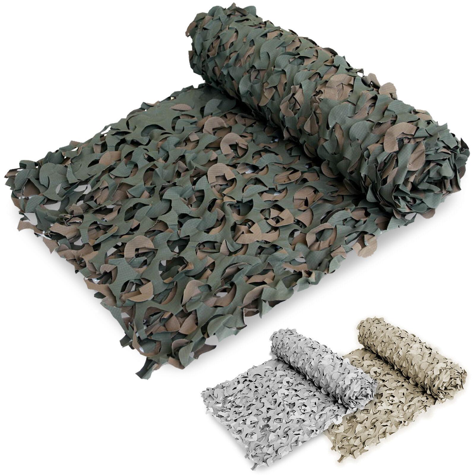 Camuflaje Camo Ejército Militar Caza Tiro Malla Net Ocultar Cubierta 3 X 2.4 M