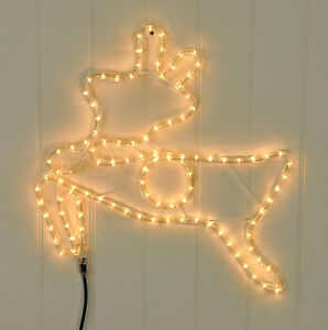 Kingfisher-Prancing-Reindeer-Rope-Light-Festive-Christmas-Xmas-Decoration