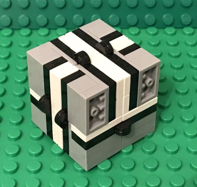 Lego X2 New Fidget Infinity Magic Folding Cube Custom MOC Handheld Play Toy