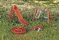 H O Scale Playground Equipment By Bachmann