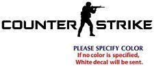 "Counter Strike #2 Game Gamer JDM Funny Vinyl Sticker Decal Car Window Wall 8"""
